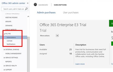 Office 365 Portal Trial by Office 365 Enterprise E3 Trial Expired Microsoft Community