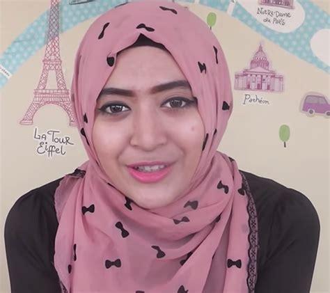 tutorial hijab modern bersosialcom