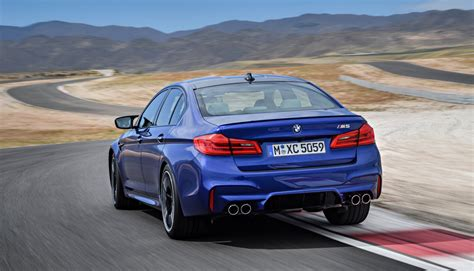 2018 Bmw M5 Debuts With 600-hp And Awd
