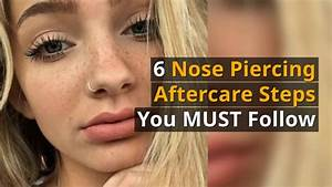 How To Pierce Your Own Nose Diy