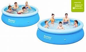 Bestway Ou Intex : bestway fast set paddling pool groupon goods ~ Melissatoandfro.com Idées de Décoration