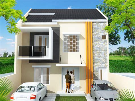 rumah minimalis  lantai ukuran  terbaru desain rumah