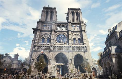 assassin s creed unity free on pc as ubisoft donates to notre dame cathedral restoration den