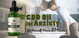 cbd oil for anxiety disorder