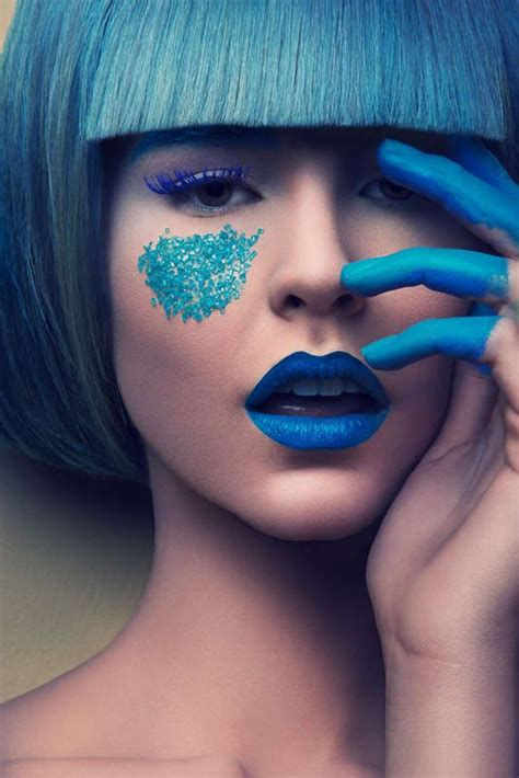 candy coated beauty photoshoots inspiring hair colors