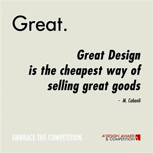 A' Design Award and Competition - Design Quotes
