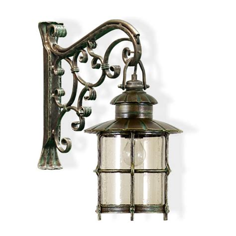 calluna wrought iron outdoor hanging wall light outdoor