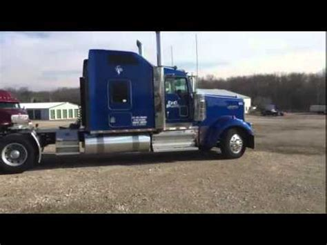 paper truck kenworth 2010 kenworth w900 for sale youtube