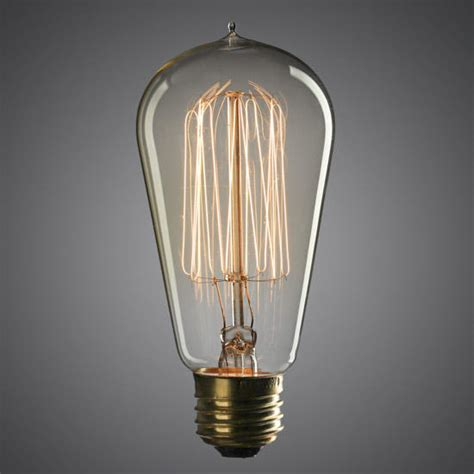 75 watt vintage light bulbs 4 75 quot vintage 60 watt edison style light bulb lighting