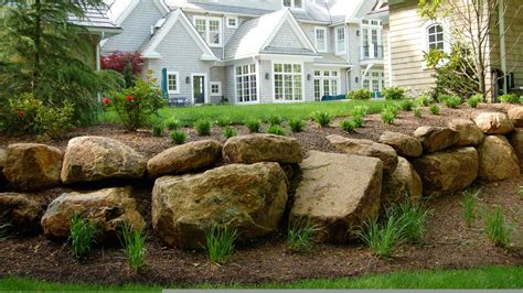 using boulders in landscaping boulder landscape ideas iimajackrussell garages best landscape boulders ideas