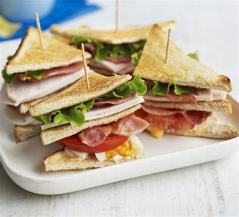 sandwich ideas club sandwich recipe bbc good food