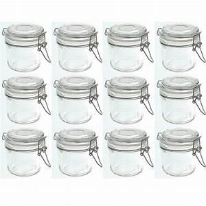 Vorratsgläser Mit Bügelverschluss : 12 st ck vorratsgl ser b gelverschlu 200 ml vorratsglas einmachgl ser glastopf ebay ~ Markanthonyermac.com Haus und Dekorationen