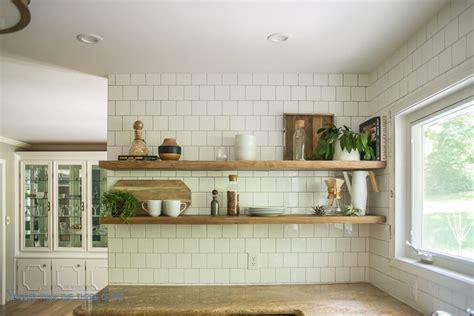 install heavy duty floating shelves