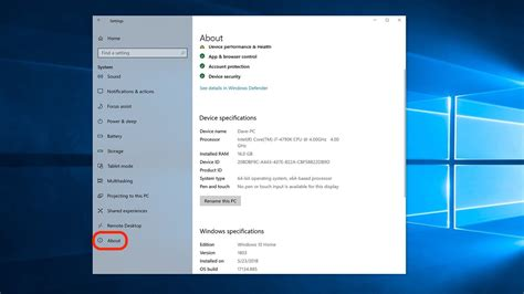 How to find your computer's specs on Windows 10, for ...