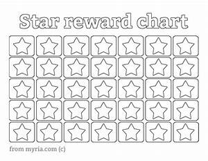 printable reward charts fill in the stars myria With star chart for kids template