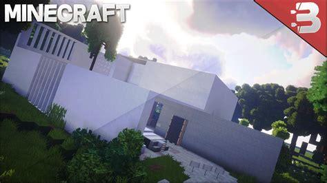 minecraft white modern house epic minecraft house design