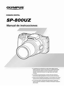 Olympus Sp 800uz Manual De Instrucciones