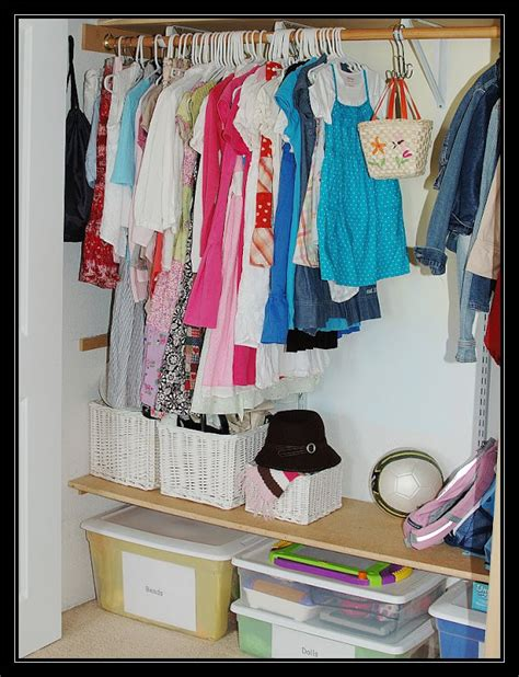 leading hearts home organize it simply kid s closet