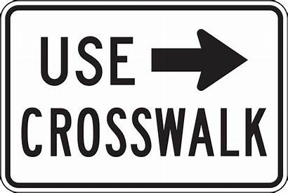 Crosswalk Sign R9 Right Mutcd Clip Clipart