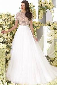 beaded wedding dresses short sleeve wedding dress cheap With non traditional short wedding dresses