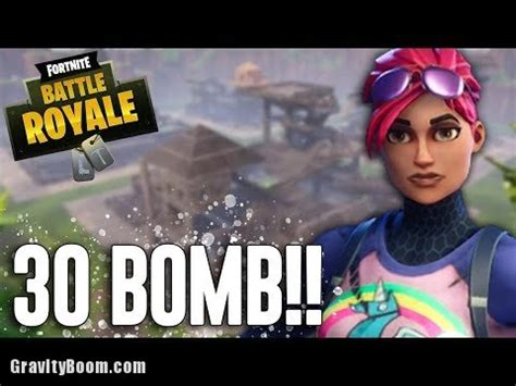 bomb fortnite battle royale gameplay ninja