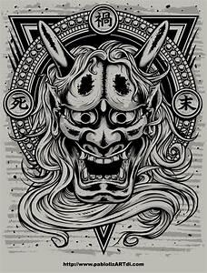 Demon Japonais Dessin : japanese demon tebori ~ Maxctalentgroup.com Avis de Voitures