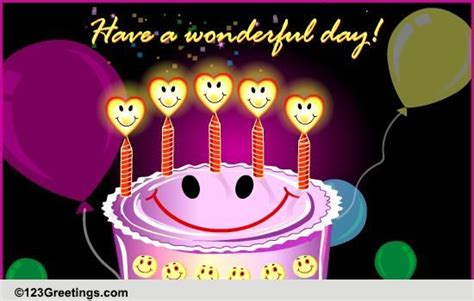 birthday smile cards  birthday smile wishes greeting