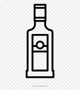 Bottle Liquor Tequila Vodka Coloring Botella Colorear Garrafa Colorir Licor Dibujo Clipart Pinclipart Pagina Vino Kindpng Views Report sketch template