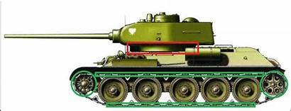 Thunder War T34 Turret Tanks Ring Ground