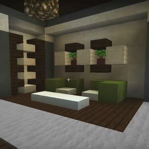 Living Room Ideas Minecraft by Really Living Room With A Furniture And Decor