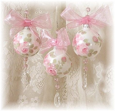 rose christmas ornaments pretty pink ornaments pictures photos and images for