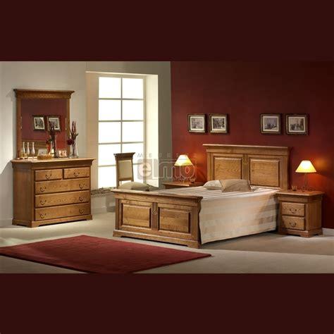 chambre en chene massif chambre adulte complète 5 pièces chêne massif layla