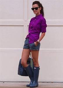 5 Ways to Look Chic in Rain Boots u2013 Glam Radar