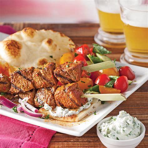 cuisine boeuf mini brochettes de boeuf recettes cuisine et nutrition