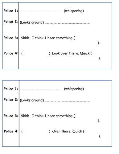 play script writing  philsha teaching resources tes