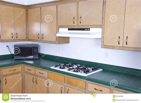 how to get a free kitchen makeover outdated kitchen cabinets needs remodeling stock photo 9406