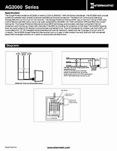 Intermatic Ag3000 120  240 Vac Universal Hvac Surge