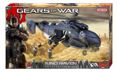 erector gears  war king raven construction set