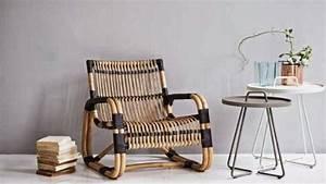 Fauteuil Rotin Design : le rotin revient joli place ~ Nature-et-papiers.com Idées de Décoration