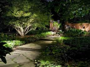 outdoor landscape lighting ideas pictures how to illuminate your yard with landscape lighting hgtv