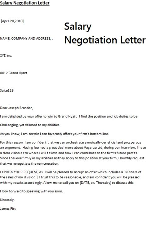 salary negotiation letter september 2012