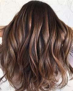 Meches Blondes Sur Chatain : 1001 variantes du balayage caramel pour sublimer votre coiffure ~ Melissatoandfro.com Idées de Décoration