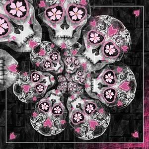 Sugar Skulls Wallpaper - WallpaperSafari