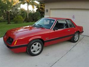 86 Mustang LX coupe 2R red 5.0 auto rust free 1 of 788 Marti report - Classic Ford Mustang 1986 ...