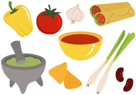 label cuisine free foods ingredients vectors free