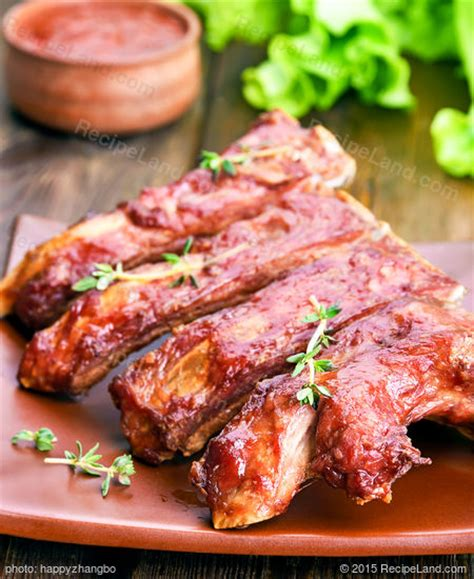 Barbecued Country Style Pork Ribs Recipe