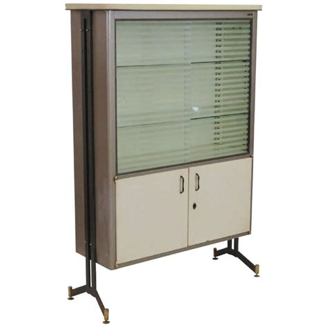 metal china cabinet italian modern metal sliding door china cabinet for