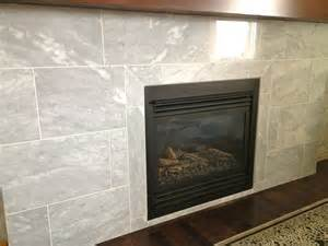 How To Install A Fireplace Surround by Marble Tile 171 Chez Sharah