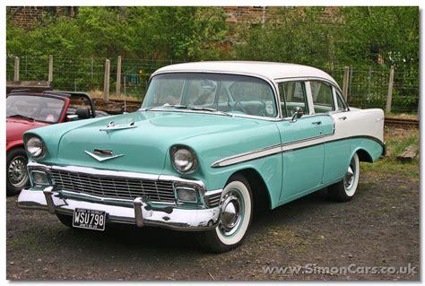 Simon Cars  Chevrolet Belair 195557
