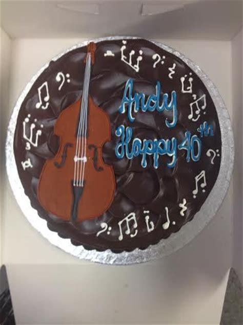 double bass bass  birthday cakes  pinterest